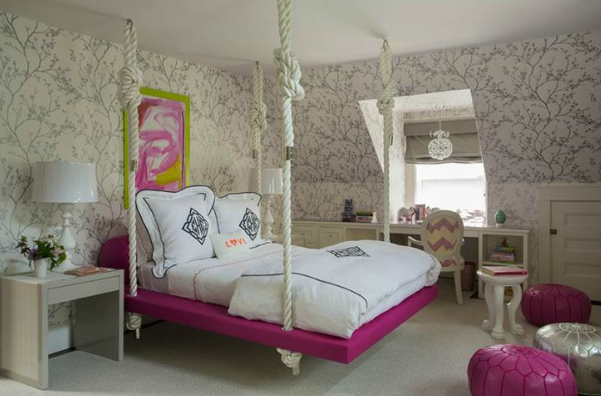 Liz Caan bedroom on Dogs Dishes and Decor