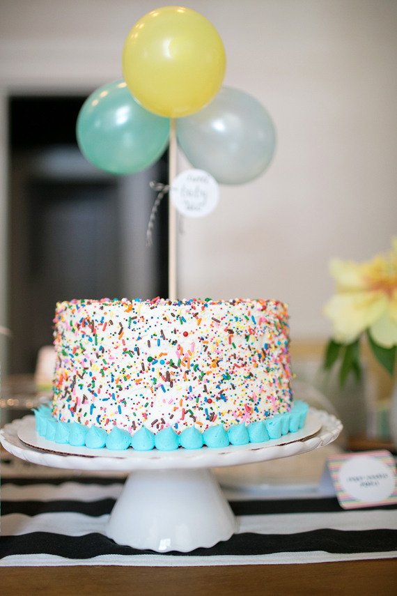 Baby Shower Cake from 100 Layer Cake on Dogs Dishes and Decor