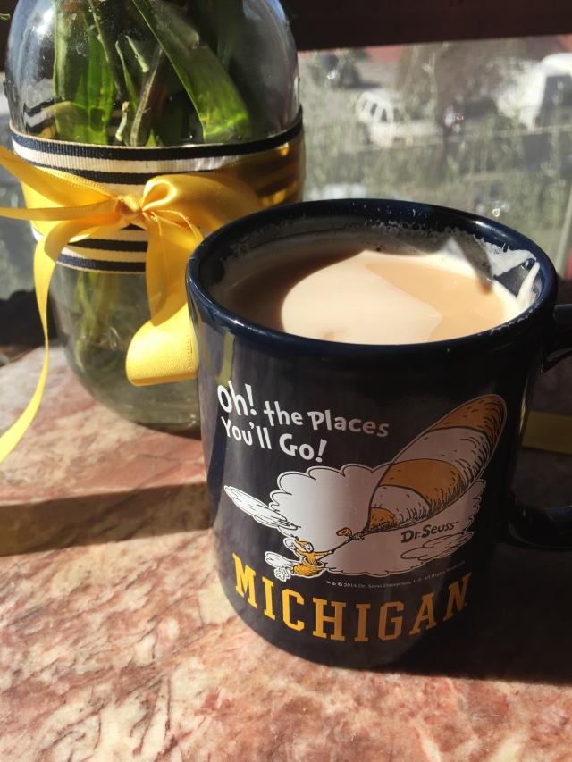 I love Michigan. And espresso.