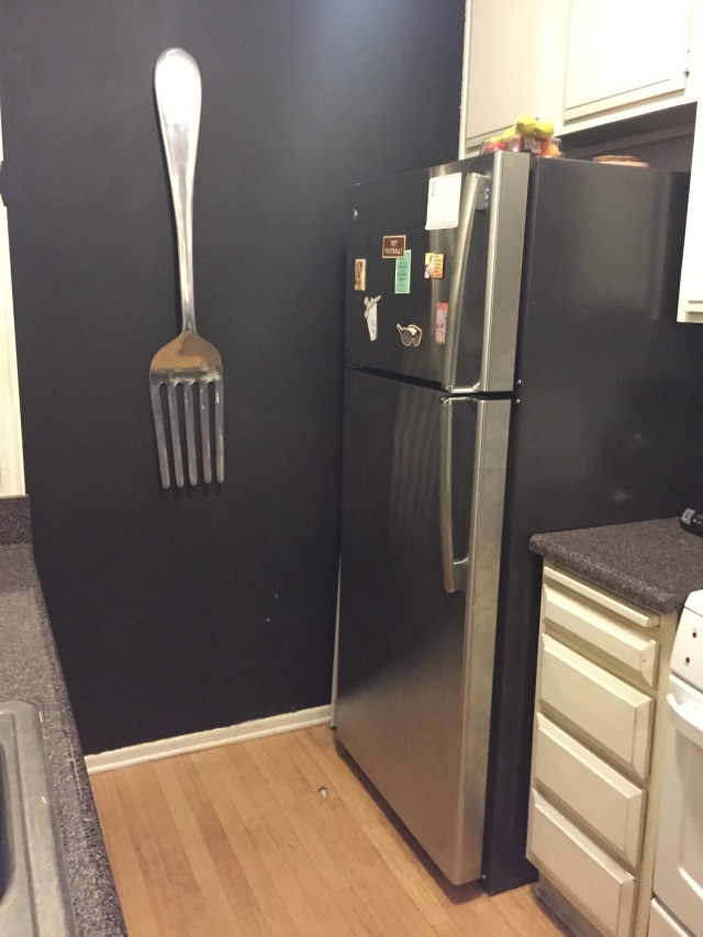 Welcome home, fridge. Thank you for hosting my bacon and my beer.